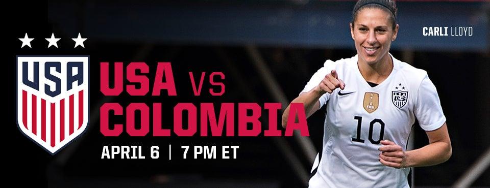Us Women S Soccer Vs Colombia